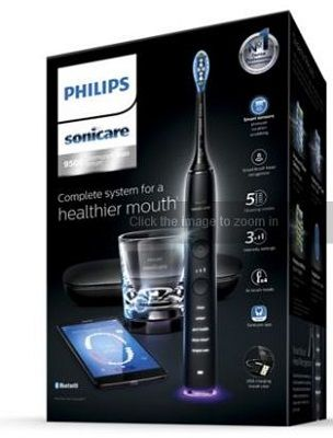 Sonic electric toothbrush with App HX9924/14